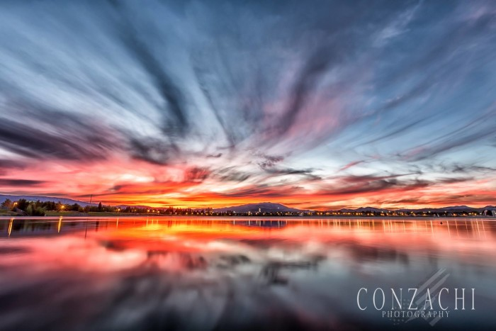 8. This sunset at Sparks Marina is MAGNIFICENT!!!
