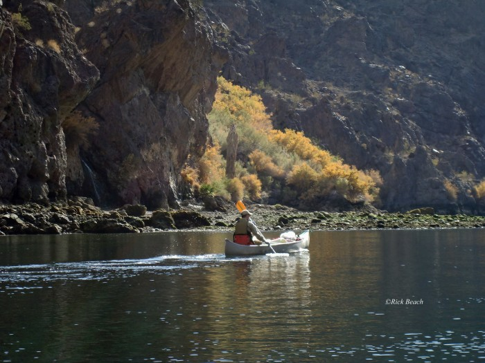 13. This incredible photo was captured in the Black Canyon on the Colorado River, and below Hoover Dam.