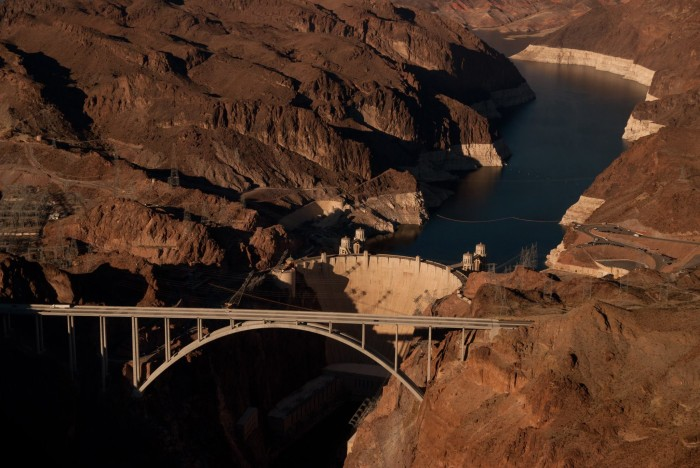 9. A great view of Mike O'Callaghan–Pat Tillman Memorial Bridge and Hoover Dam.
