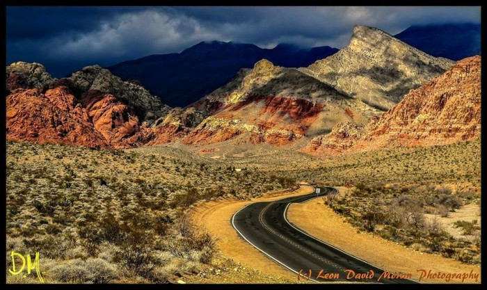 14. This capture of Red Rock Canyon is PERFECTION!
