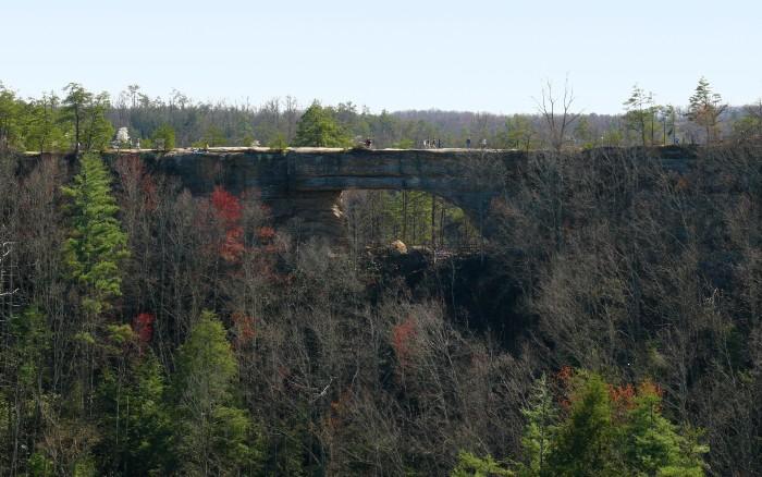 3. Natural Bridge State Resort Park