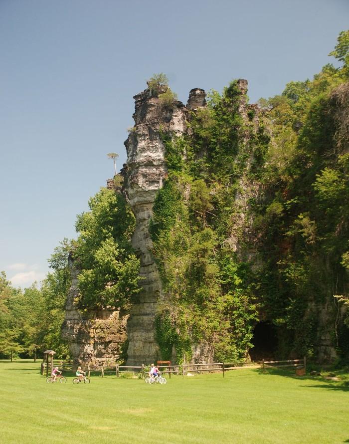 10. Natural Chimneys, Mount Solon