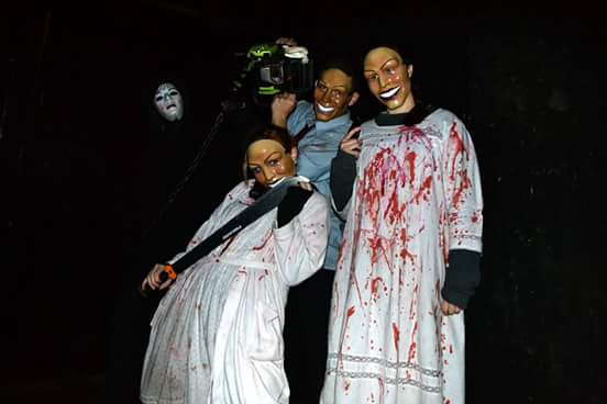 Nightmare Forest actors.