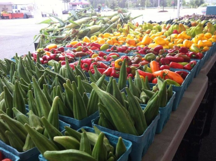 15. We are reminded of Virginia's natural bounty in this image captured by the North Stafford Farmer's Market.