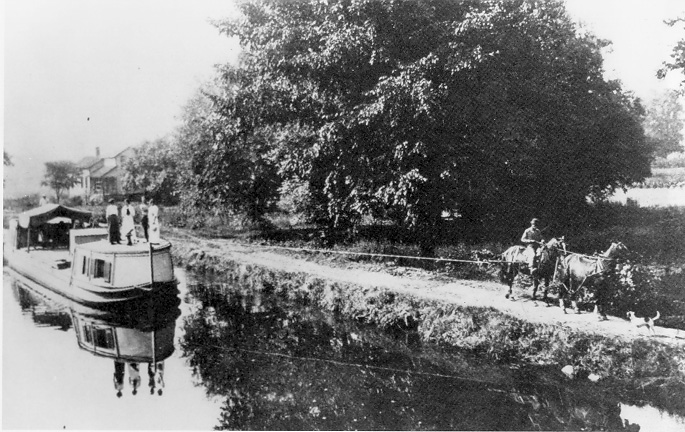 2. Ohio Erie Canal in Independence, OH (Circa 1902)
