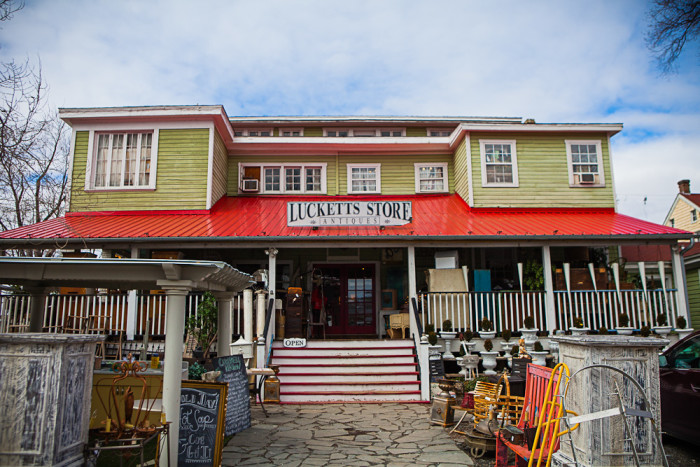 11. The Old Luckett's Store, Leesburg