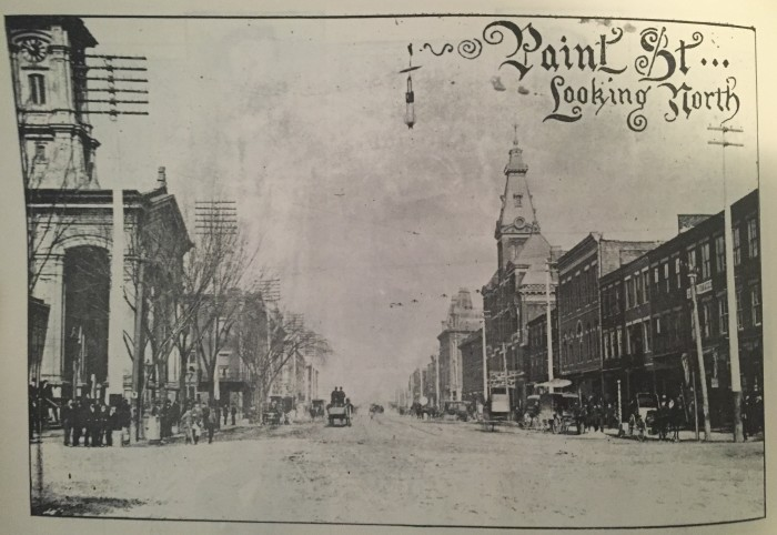 3. Paint Street in Chillicothe, OH (Circa 1896)