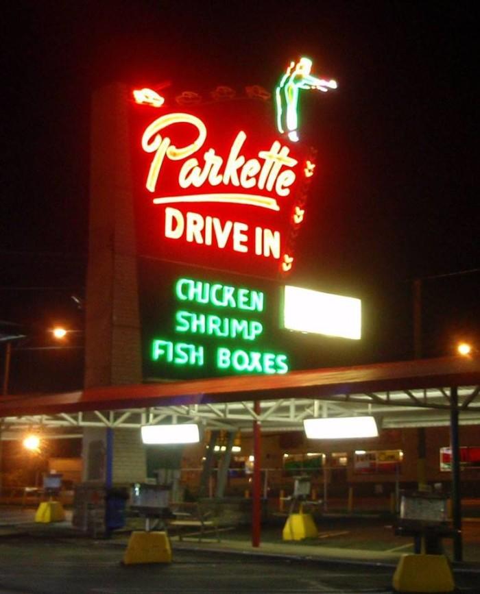 7. Parkette Drive In Restaurant