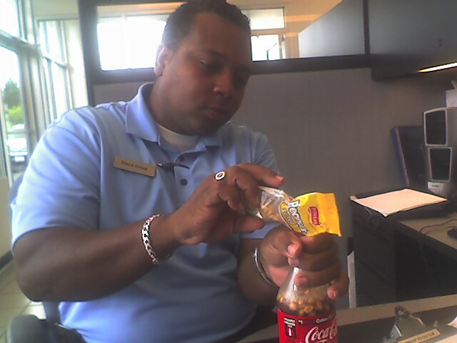 12. We put peanuts in our Coke.