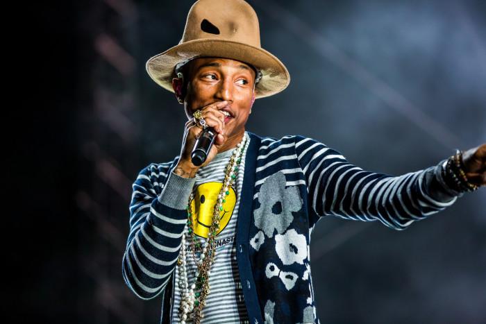 6. Pharrell Williams, Virginia Beach