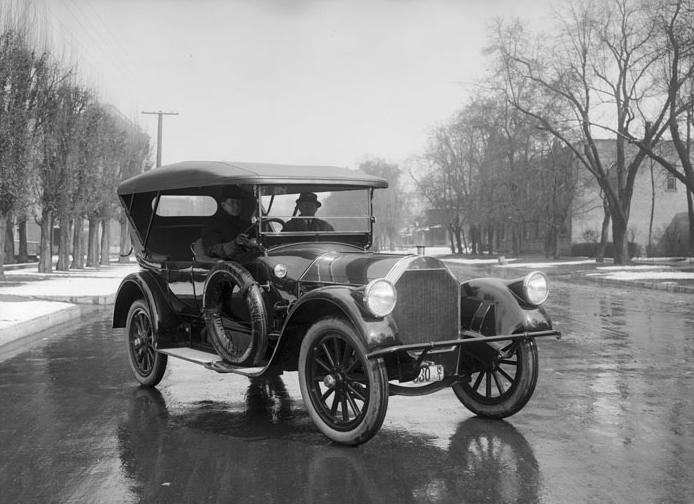 17. Mid-life crisis car, circa 1915.