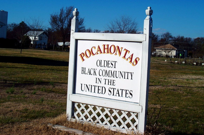 13. Pocahontas Island (Petersburg) is the oldest free black community in the nation.