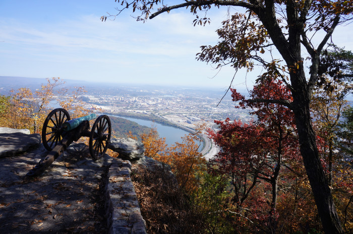 1) Point Park - Chattanooga
