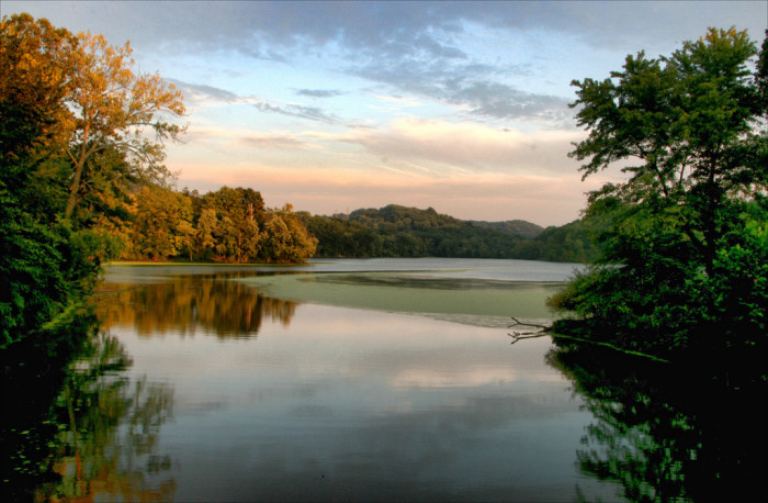 6) Early mornings at Radnor create the perfect scape for a stunning sunrise.