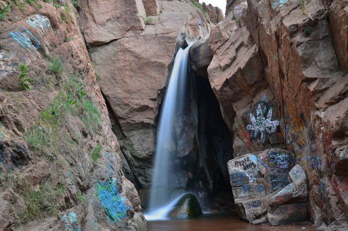 13. Rainbow Falls (Manitou Springs)