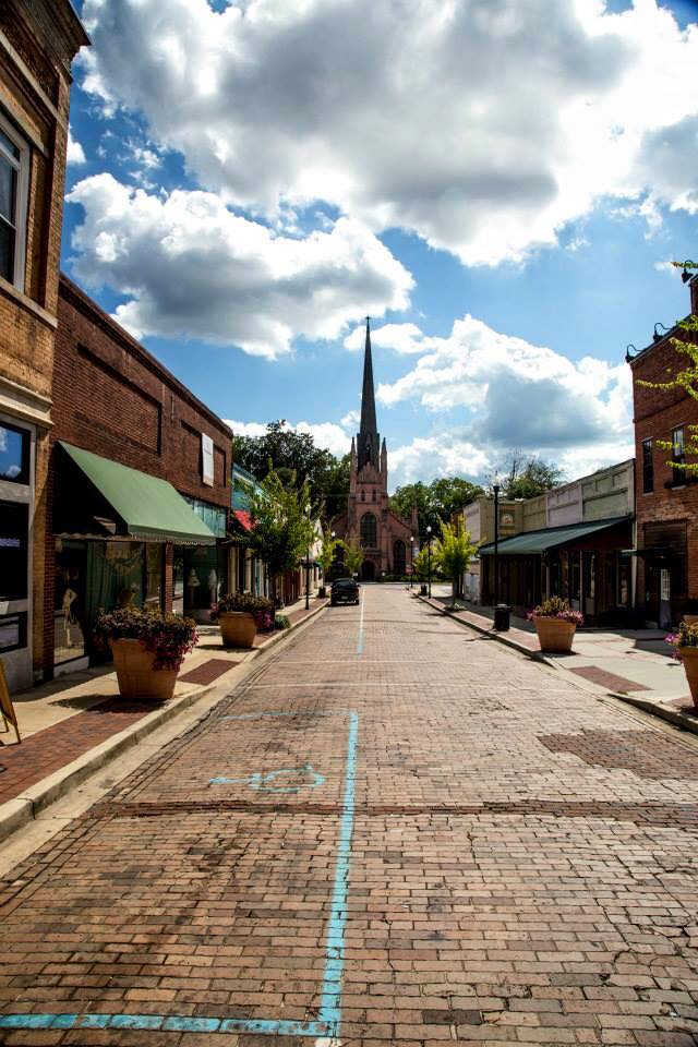 """17. """"Afternoon Stroll"""" was taken by Ralph Hobson in Abbeville. What a beautiful shot of a beautiful town."""