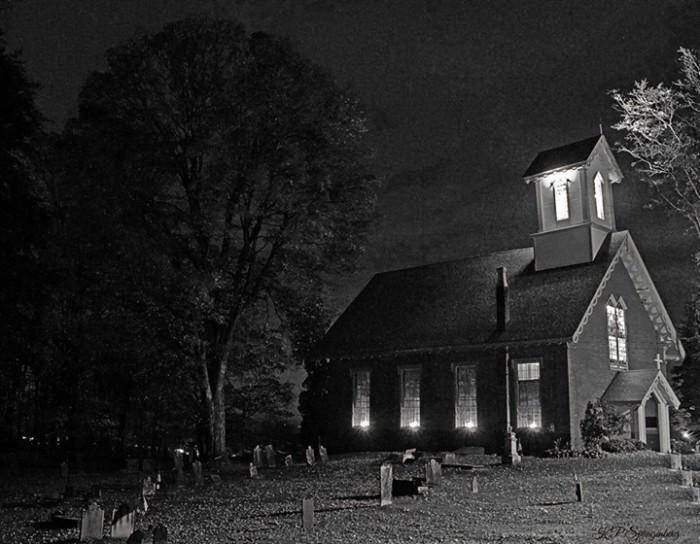 10. A spooky cemetery in Belvidere, taken by Karen Priscilla Spangenberg.