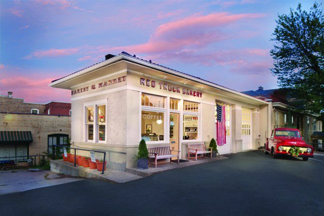 2. The Red Truck Bakery, Warrenton and Marshall