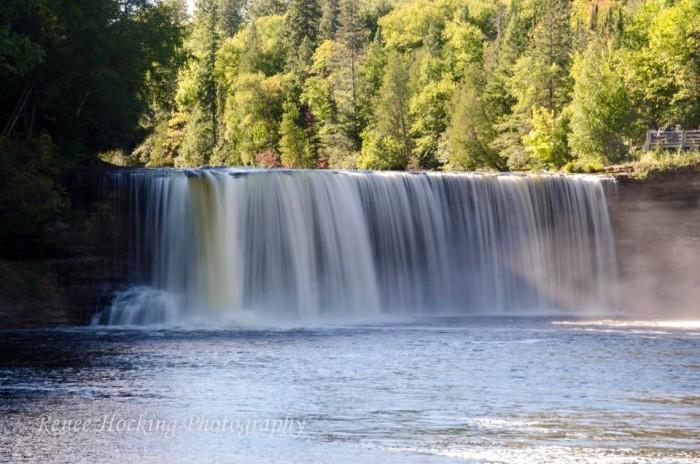 4) Renee Hocking got a pic of Upper Tahquamenom Falls.