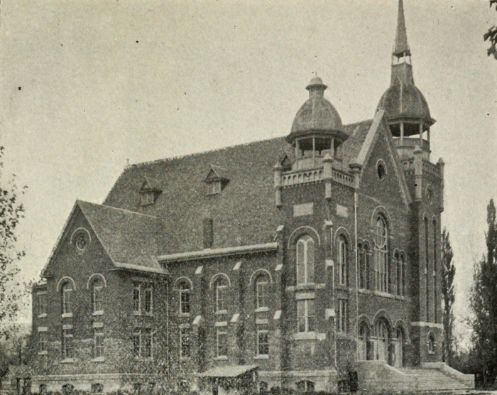 3. The Richmond Ward Tabernacle was built in 1904.