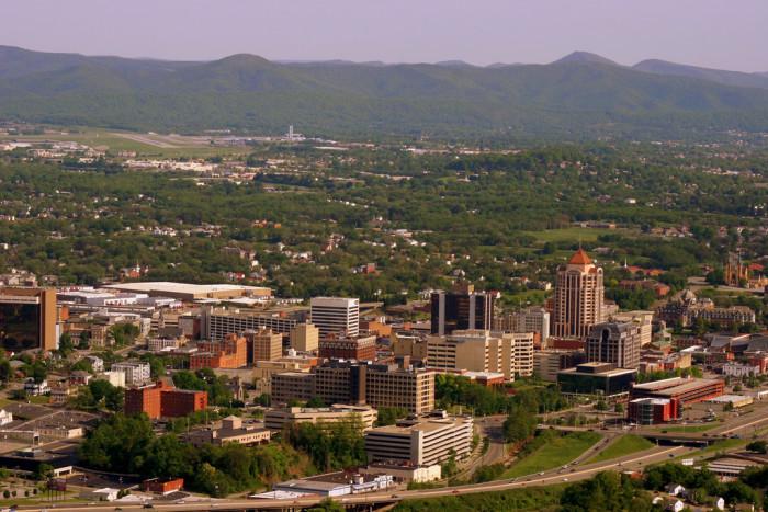 7. City of Roanoke