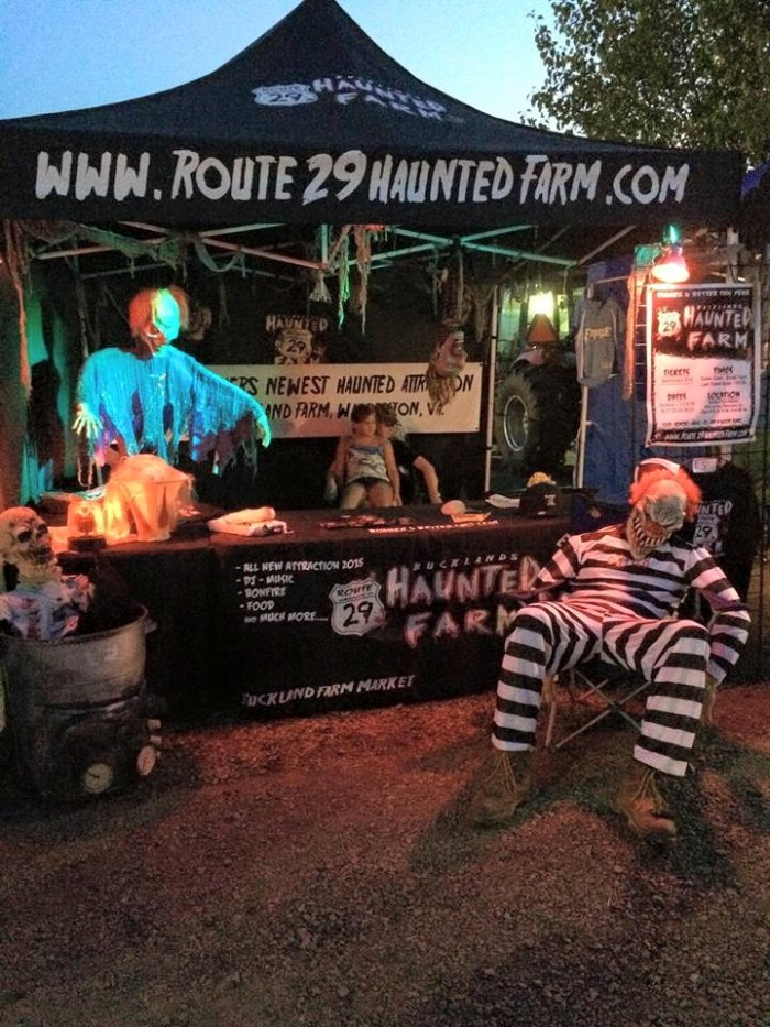7. Route 29 Haunted Farm at Bucklands Farm, Warrenton