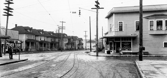 Southeast 35th and Belmont in Portland. Have you ever stood in the spot where this photo was taken?