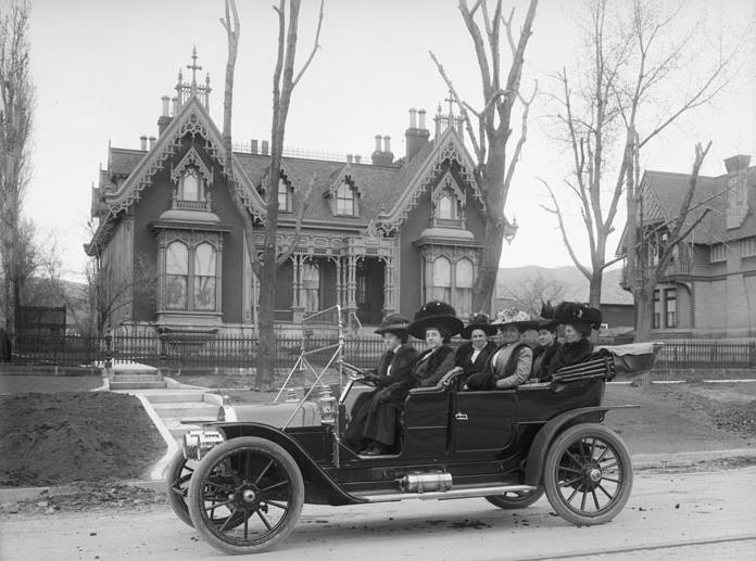 5. What wealthy Utah women did for fun in 1909.