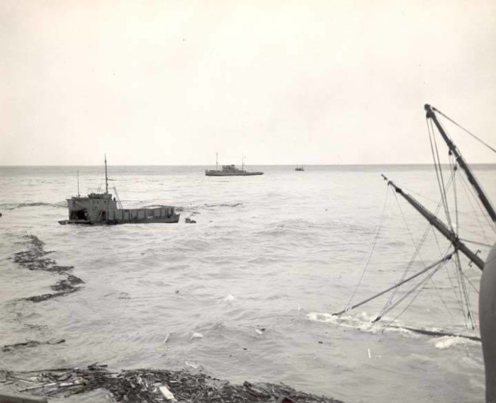 3) Wreck of the S.S. Yukon, 1946