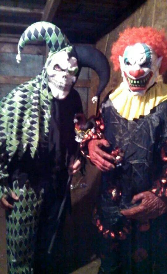 Scottsburg House of Horrors clowns
