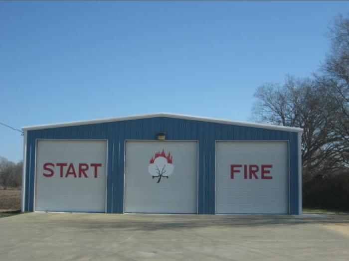 6) The fire department in Start, LA.