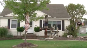 Here's The Controversial, Disturbing Ohio Halloween Display Everyone Is Talking About