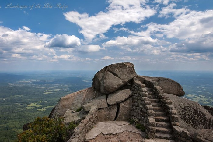 16. Sharp Top Mountain at the Peaks of Otter in Bedford has never looked so beautiful as in this photo submitted by Landscapes of the Blue Ridge.
