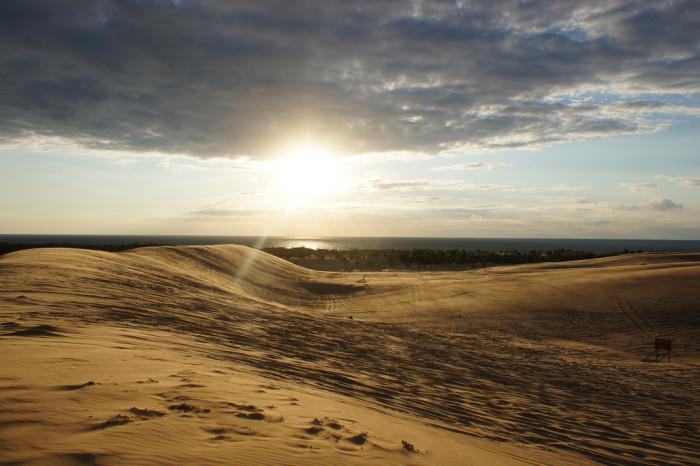 3) Silver Lake Sand Dunes