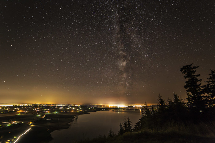 14. The Milky Way seen in Skagit Valley.