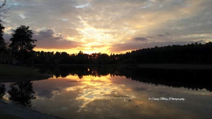 8. Sportsman Lake in Larue Co. via Cindy Milby