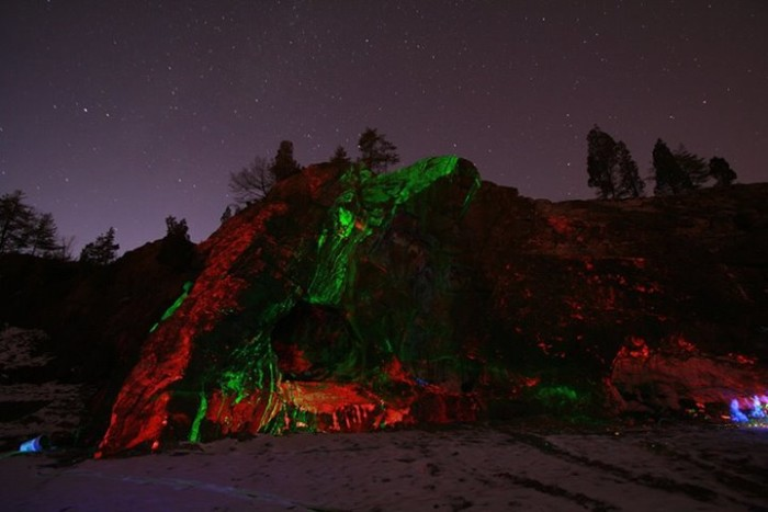 11. I love the luminescent rocks at Sterling Hill Mining Museum!