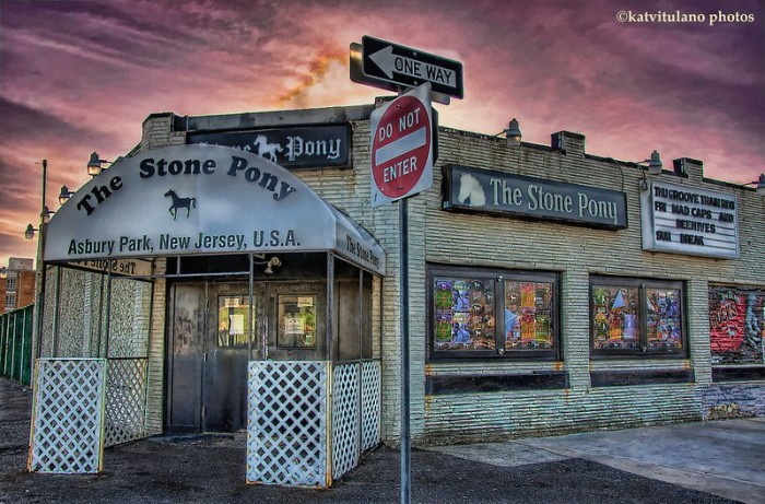 4. The Stone Pony first opened - 1974.