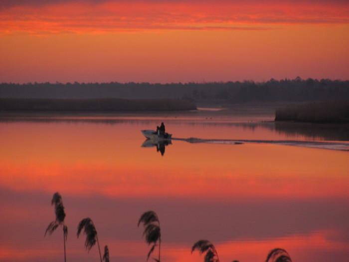 1. Early morning on Mullica River, taken by Robert Larson.