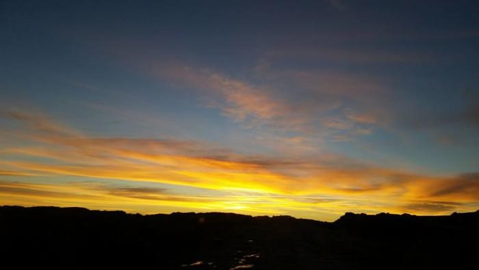 2. Sunrise in Camp Creek via Scott Bailey.