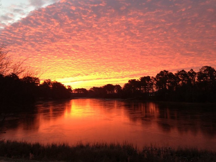 7. Sunrise in Cape Charles, submitted by Michael Kushner.