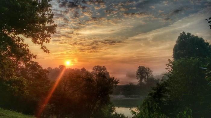 4. Sunrise in North Hopkins County via Cindy Quinn Kercheval.
