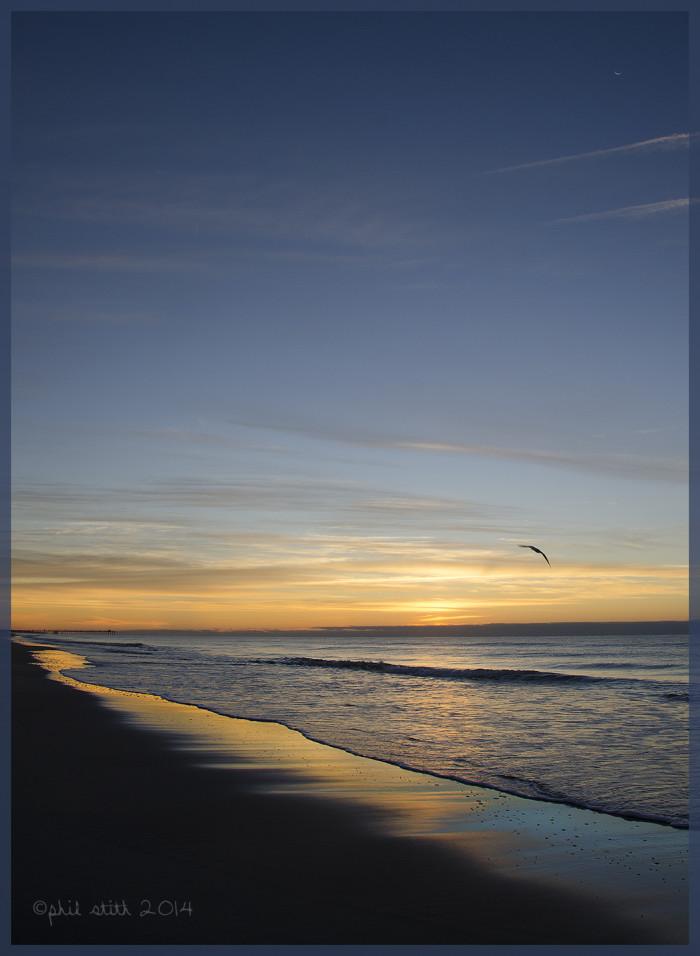 """12. """"Sunrise on the Beach"""""""