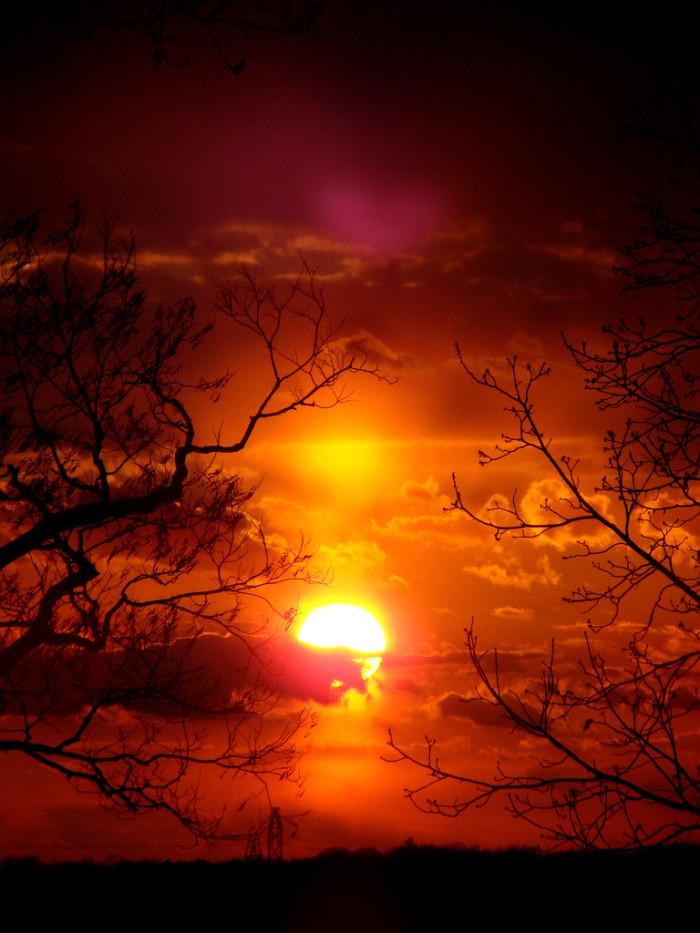 5. Sunset in Kentucky.