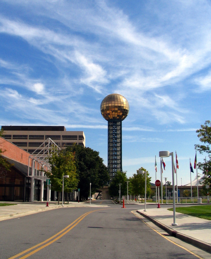 5) Sunsphere - Knoxville