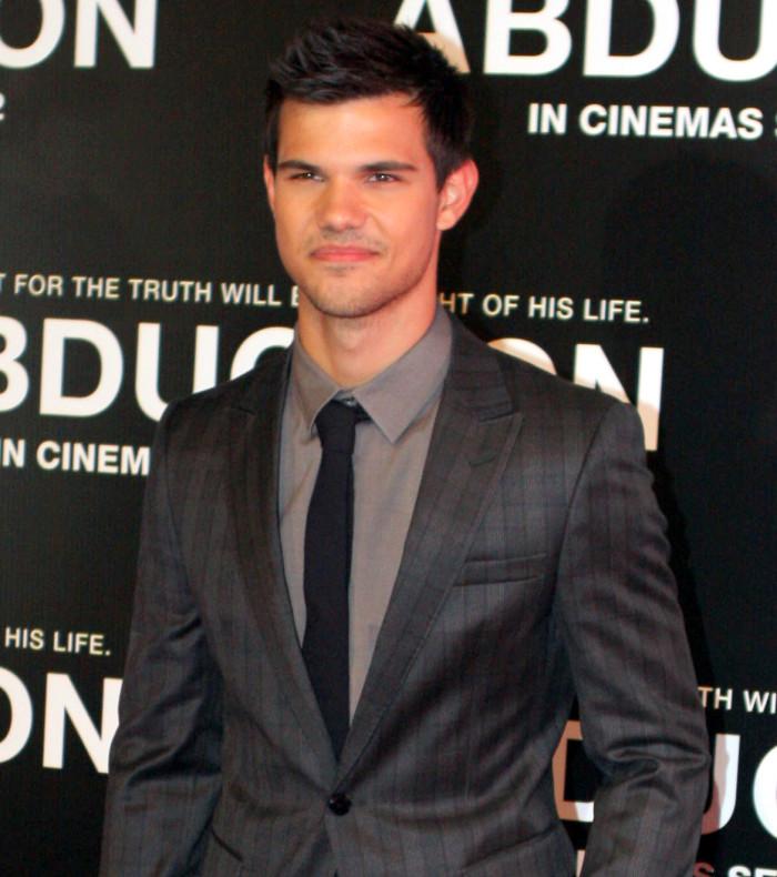 2) Taylor Lautner