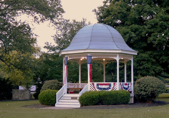 The smartest cities in ohio for Terrace gazebo