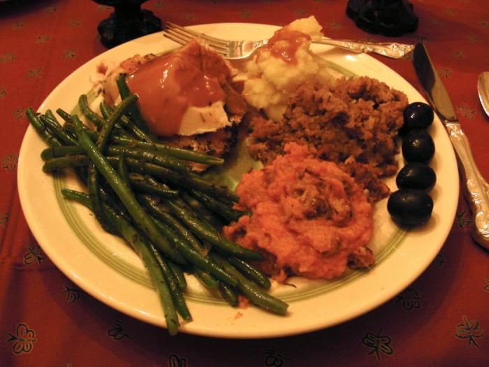 1. We start planning for Thanksgiving.