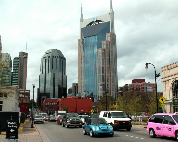 3) The ATT Building - Nashville