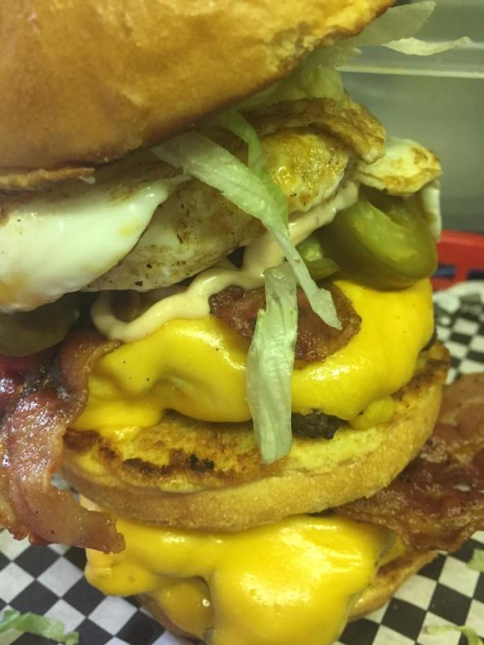 """8. A Better Burger """"Hungry Hillbilly Challenge"""" - Jonesville"""